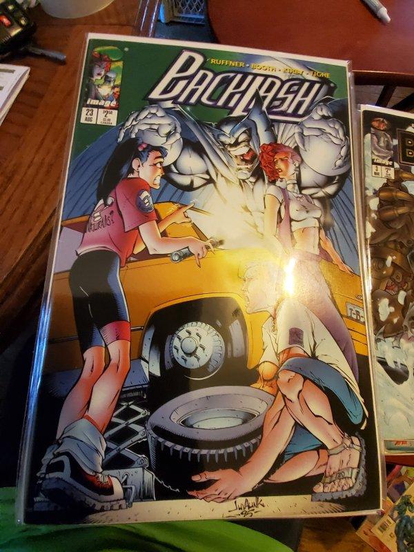 Backlash #23 (1996)