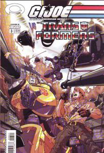 G.I. Joe vs. the Transformers #3 (6-Aug) NM- High-Grade G.I. Joe, Transformers