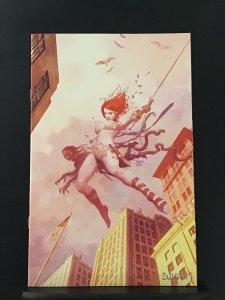 Die!Namite #3 1:15 ratio Spider-Man homage non-zombie virgin cover