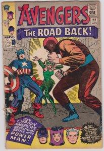 Avengers #22 (G-)