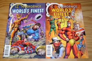 Convergence World's Finest #1-2 VF/NM complete series  seven soldiers of victory