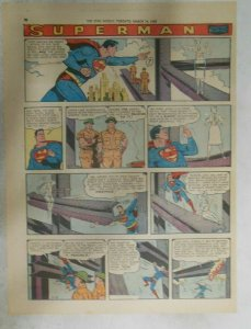 Superman Sunday Page #1011 by Wayne Boring from 3/15/1959 Tabloid Page Size