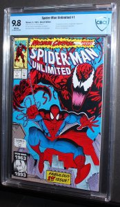 Spiderman Unlimited #1  /  CBCS 9.8 NM-MT  /   2017