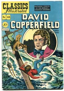 Classics Illustrated #48 HRN 47- David Copperfield EGYPTIAN COLLECTION