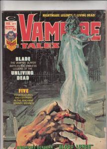 Vampire Tales #9 (Aug-74) VF/NM High-Grade Morbius the Living Vampire