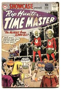 Showcase #26 1960-DC-Rip Hunter..Time Master-Joe Kubert-VG-