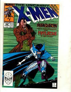 Uncanny X-Men # 256 NM Marvel Comic Book Psylocke Ninja Wolverine Storm SM8