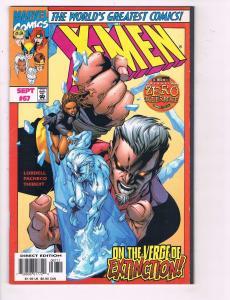 X-Men # 67 VF/NM Marvel Comic Books Cyclops Beast Gambit Magneto Wolverine! SW14