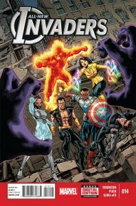 ALL NEW INVADERS (2013 MARVEL) #14 NM- A24722