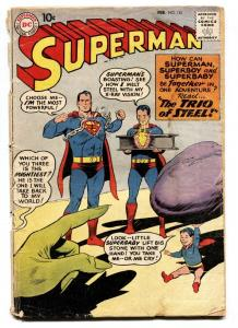 SUPERMAN #135 comic book 1960-DC COMICS-SUPERBOY-SUPERBABY-g-