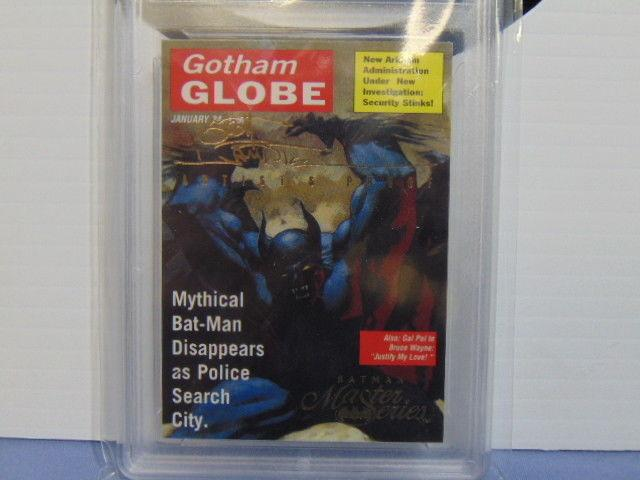 1995 Batman Master Series Ghost of a Ghost #6 Artists Proof Card - Gem Mint 10