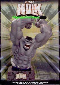 GREY HULK Statue, Hulk Smash, Radioactive, Bruce Banner, MIB, 2003, 8
