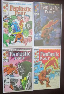 Fantastic Four Comics Set # 1 - 12 - 8.0 VF - 1985