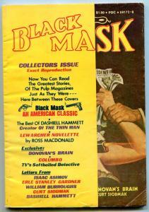 Black Mask Pulp #1 August 1974- Burroughs- Dashiell Hammett VG/F