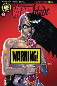 Vampblade Season 3 #8 Cvr D Limited Edition Variant (Action Lab, 2019) NM