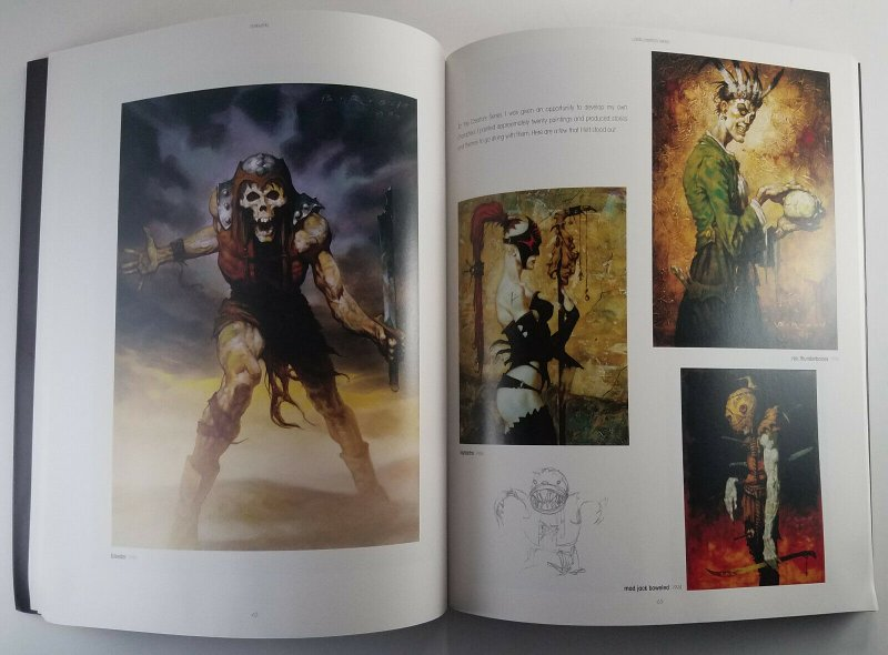 BROM DARKWERKS 1ST PRINT 1997 Rare 2x Signed and Sketched by BROM One of a kind