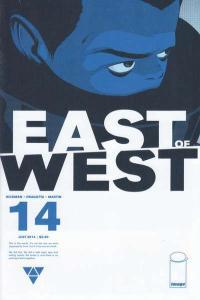 East of West #14, NM + (Stock photo)