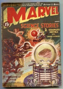 Marvel Science Stories #1 AUG 1938--First MARVEL logo- Avengers of Space