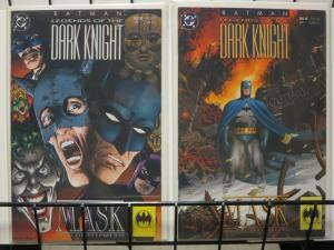 BATMAN LEGENDS OF THE DARK KNIGHT 39-40 MASK B.Talbot