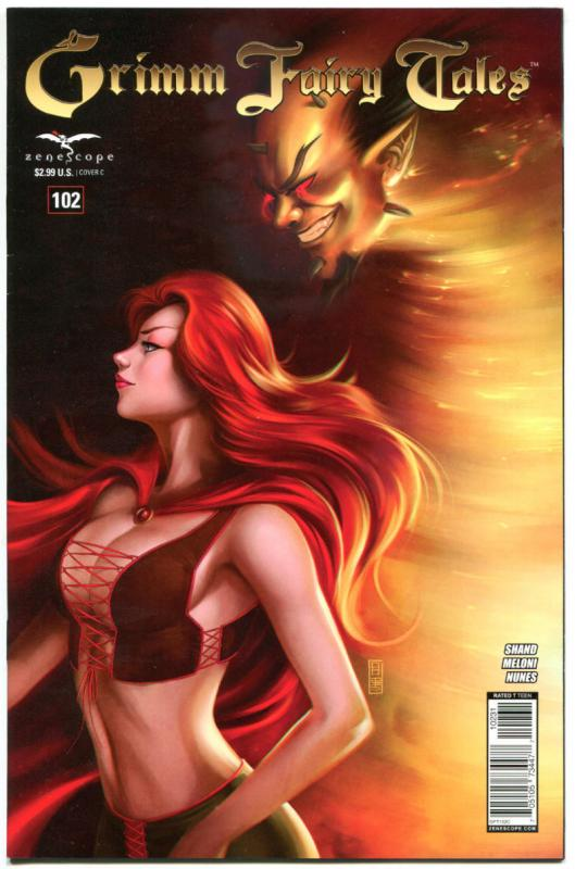 GRIMM FAIRY TALES #102 C, VF/NM, 2005, 1st, Good girl, more GFT in store