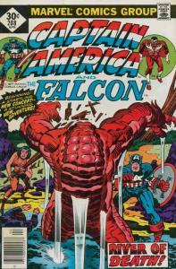 Captain America (1st Series) #208 FN; Marvel   save on shipping - details inside