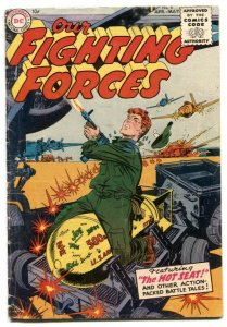 Our Fighting Forces #4-1955-DC Silver Age War comic VG