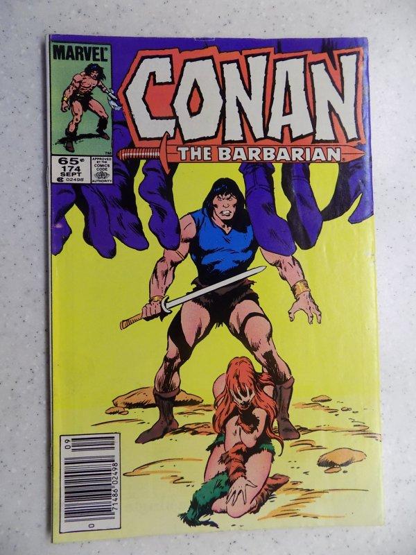 CONAN THE BARBARIAN # 174 MARVEL SAVAGE SWORD FANTASY