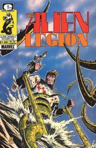 Alien Legion (Vol. 1) #4 VF/NM; Epic | save on shipping - details inside