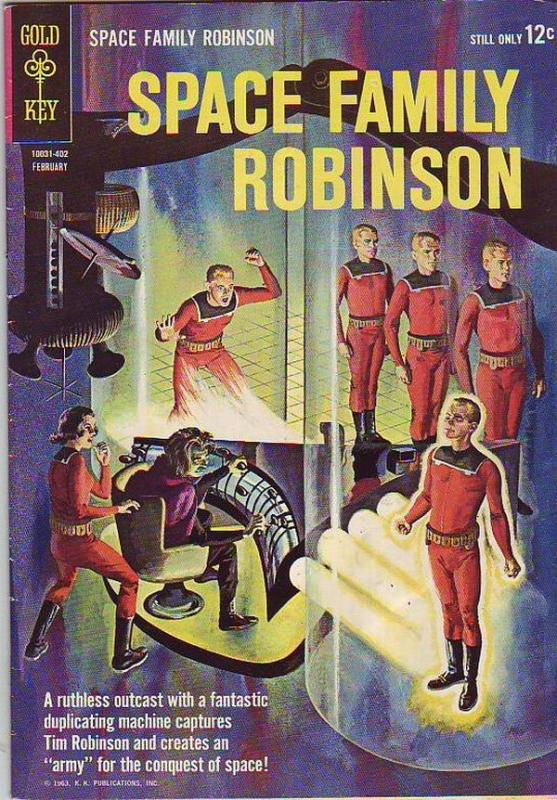 Space Family Robinson, Lost In Space #6 (Feb-64) VF- High-Grade Will Robinson...