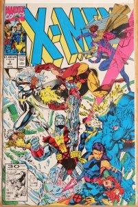 X-Men #3 - Near Mint 9.4 (1991)