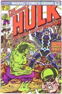 Incredible Hulk #175 (May-74) FN/VF Mid-High-Grade Hulk