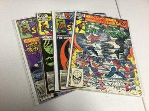 Amazing Spider-Man 222 223 224 227 Vg/Fn-Fn/Vf 5.0-7.0 Marvel Comics
