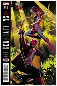 Generations Hawkeye #1 (Marvel, 2017) NM