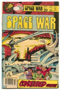 Space War #31 1978- Steve Ditko cover- Charlton Comics- FN