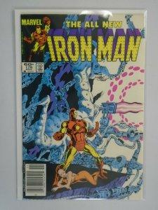 Iron Man #176 Newsstand edition 7.0 FN VF (1983 1st Series)