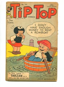TIP TOP #171 1951-UNITED FEATURES-ERNIE BUSH MILLER-VG+