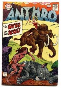 Anthro #1-DC HOWIE POST ART-DC-1968 VF