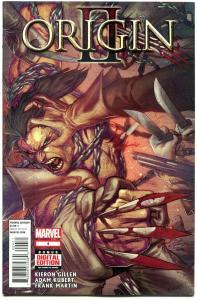 ORIGIN II #4, WOLVERINE, NM, Gillen, Adam Kubert, 2014, more Marvel in store