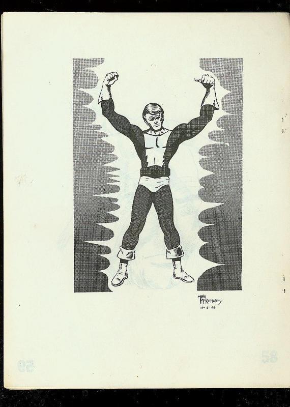 COMIC SHOWCASE FANZINE #3 1969-LIGHTMAN-PROTECTOR-RARE FN