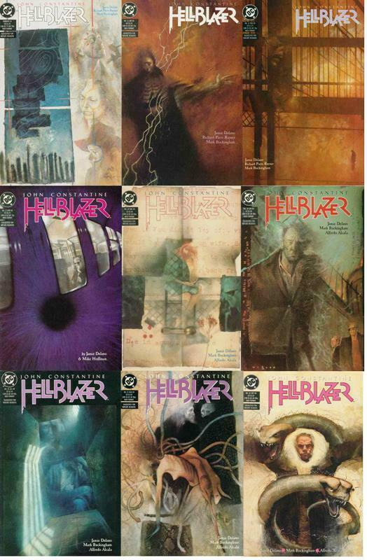 HELLBLAZER 14-22  The Fear Machine  COMPLETE!