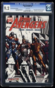Dark Avengers #1 CGC NM- 9.2 White Pages NYCC New York Comic Con Edition!
