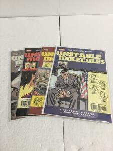 Fantastic Four Unstable Molecules 1-4 Lot Set Run Nm Near Mint Marvel Comics IK