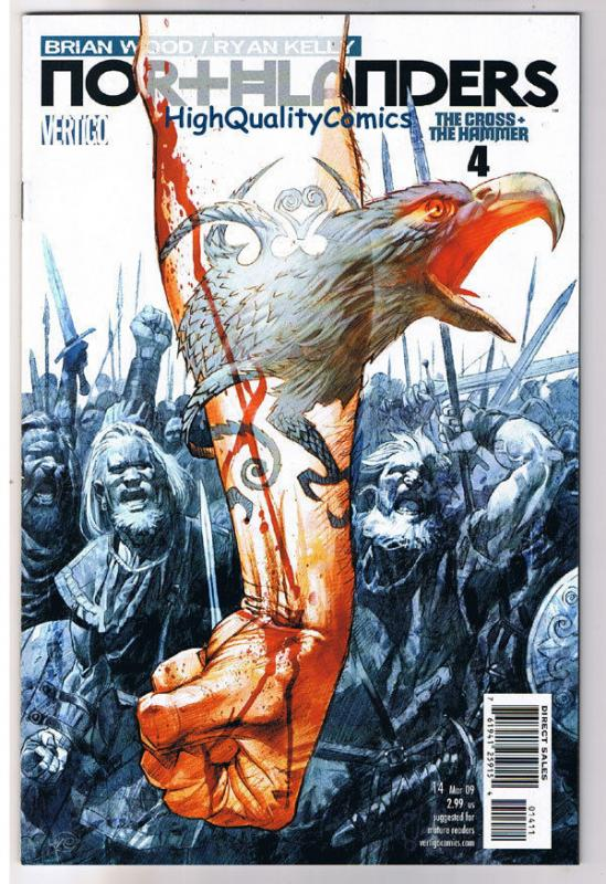 NORTHLANDERS #14, NM, Vikings, Vertigo, Brian Wood, 2008, more in our store