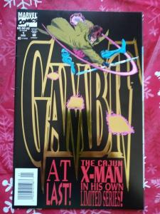 GAMBIT  (1993 Series)  (MARVEL) #1 NEWSSTAND