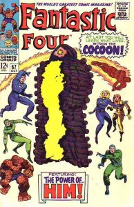Fantastic Four #67 (Oct-67) VG/FN+ Mid-Grade Fantastic Four, Mr. Fantastic (R...