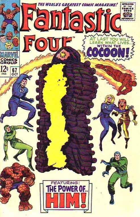 Fantastic Four #67 (Oct-67) VG/FN+ Mid-Grade Fantastic Four, Mr. Fantastic (R...