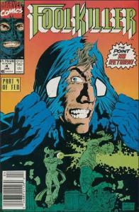 Marvel FOOLKILLER (1990 Series) #4 FN/VF