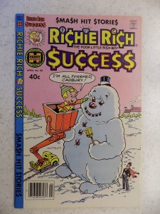 RICHIE RICH SUCCESS # 92 HARVEY CARTOON ADVENTURE FUNNY