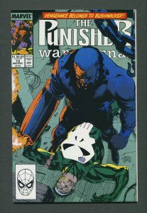 Punisher War Journal #13  / 9.4 NM / December 1989