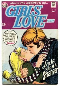 Girls' Love Stories #143 1969-DC-Love From A Stranger-VG MINUS